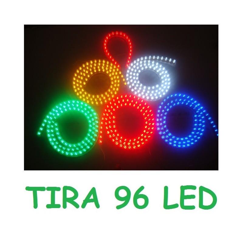 1x tira 96 led resistente al agua flexible luz neon - Precio tira led ...