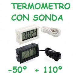 TERMOMETRO CON SONDA DE 1 METRO MEDIR TEMPERATURA MOTOR -50º +110º