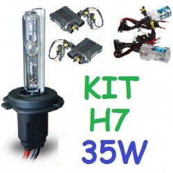 KIT XENON H7 35w (ESTANDAR) COCHE