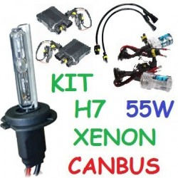 KIT XENON H7 55w CANBUS NO ERROR COCHE