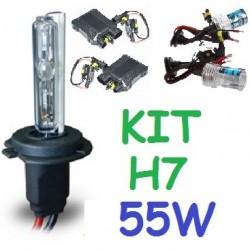 KIT XENON H7 55w (Alta Potencia) COCHE