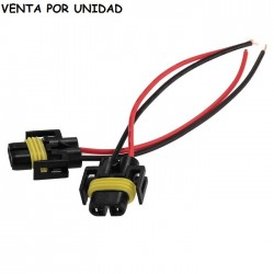 CONECTOR HEMBRA BOMBILLAS H8 H9 H11 H16