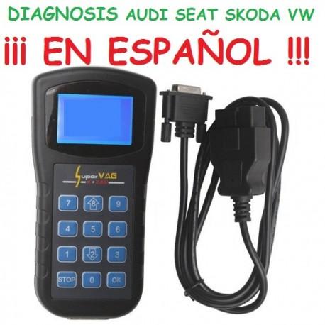 MAQUINA DIAGNOSIS ¡¡ESPAÑOL!! AUDI SEAT SKODA VOLKSWAGEN VAG K+CAN OBD