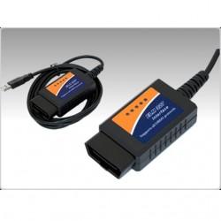 DIAGNOSIS UNIVERSAL OBD ELM327 USB MULTI MARCA VER BORRAR ERROR MOTOR