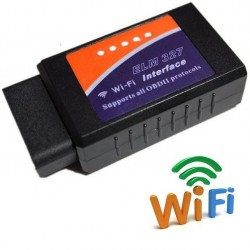 DIAGNOSIS UNIVERSAL OBD ELM327 WIFI IPHONE MULTIMARCA VER BORRAR ERROR