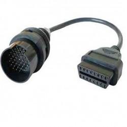 CONECTOR IVECO 38 PIN OBD A OBD2 16 PIN ADAPTADOR DIAGNOSIS