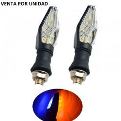 INTERMITENTES UNIVERSALES LED DE MOTO TUNING 12V
