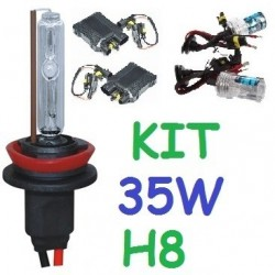 KIT XENON H8 35w (ESTANDAR) COCHE