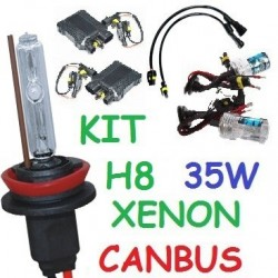 KIT XENON H8 35w CANBUS NO ERROR