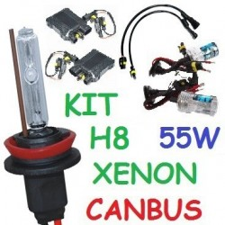 KIT XENON H8 55w CANBUS NO ERROR COCHE