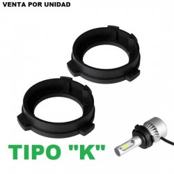 ADAPTADOR CONVERSION LED Y XENON TIPO K SKODA VOLKSWAGEN MG