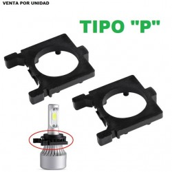 ADAPTADOR CONVERSION LED Y XENON TIPO P FORD FOCUS MONDEO FIESTA