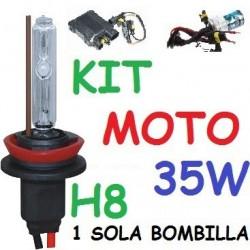 KIT XENON H8 35w (ESTANDAR) MOTO 1 BOMBILLA