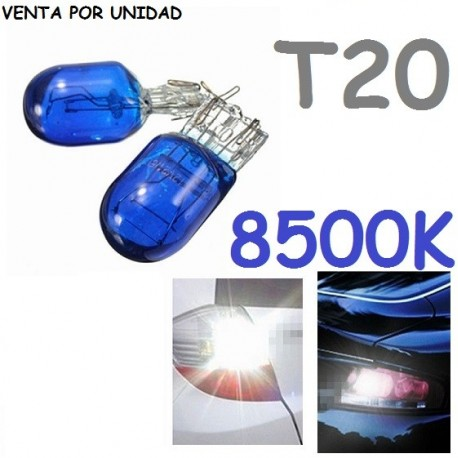 BOMBILLA T20 W21/5W COCHE 7443 580 7442 7440 W21W 8500K
