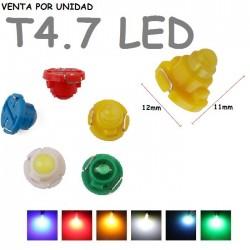 T4.7 LED BOMBILLA PARA COCHE LUZ DE FONDO MARCADOR