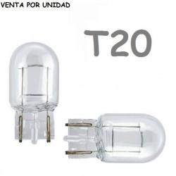 Bombilla T20 Halógena de Filamento Coche 582 7440 W21W