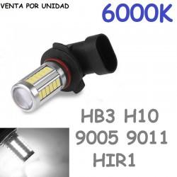 HB3 HIR1 9005 9011 Led Bombilla Para Coche Anti Niebla