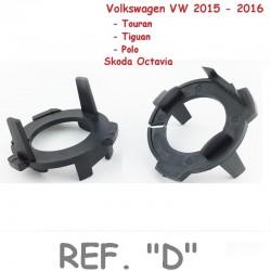 Adaptador Conversión Bombillas H7 Led y Xenon Tipo D VW 2015 2016