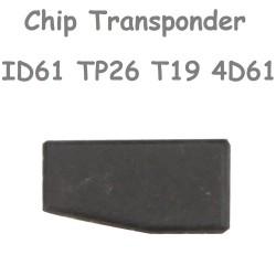 Chip de Carbono Trasponder ID61 TP26 T19 4D61 de 40 Bits