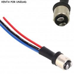 Conector Macho Bombilla 1157 2057 BAY15D P21/5W 2 Polos
