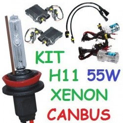 KIT XENON H11 55w CANBUS NO ERROR COCHE