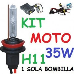 KIT XENON H9 35w (ESTANDAR) MOTO 1 BOMBILLA