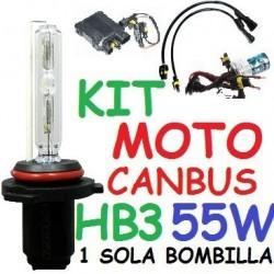 KIT XENON H9 55w CANBUS NO ERROR MOTO 1 BOMBILLA