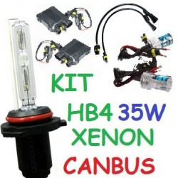 KIT XENON HB4 9006 35w CANBUS NO ERROR