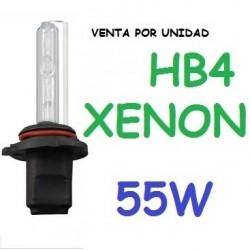 BOMBILLA HB4 9006 XENON 55W REPUESTO COCHE MOTO