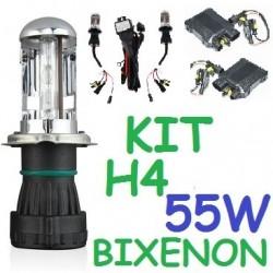 KIT BI-XENON H4 55w (Alta Potencia) COCHE