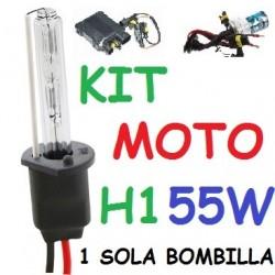 KIT XENON H1 55w (Alta Potencia) MOTO 1 BOMBILLA