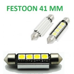 BOMBILLA LED C10W CANBUS MATRICULA FESTOON 41 MM NO ERROR