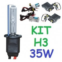 KIT XENON H3 35w (ESTANDAR) COCHE