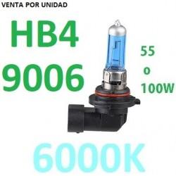 BOMBILLA HB4 9006 TIPO XENON LUZ BLANCA EFECTO 6000K COCHE MOTO