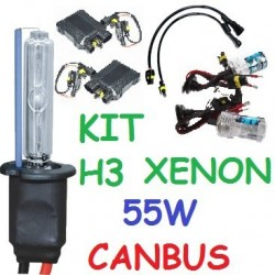 KIT XENON H3 55w CANBUS NO ERROR COCHE