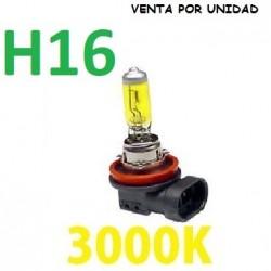 BOMBILLA HALOGENA H16 AMARILLA 3000k